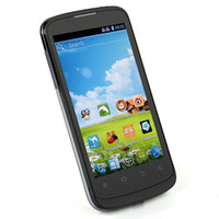 Cheap ZTE V889F Android 4.0 phone Dual Core Two Dual SIM 512MB 4GB Google Store 3G WCDMA SmartPhone DHL free shipping LY