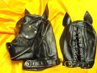 Wholesale 1pcs PU Leather dog hood puppy