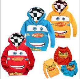 Wholesale 2014 new kids wear Spring autumn coat lighting qcqueen cartoon cars boy girl long sleeve sweatshirts boy top outerwear TopB17 piece