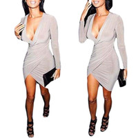 Wholesale S5Q Clubwear Evening Cocktail Dress Hot Womens Sexy Slim Bodycon Bandage Dress AAADRO