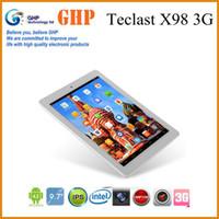 Under $300 Teclast X98 Original Teclast X98 3G Intel tablet pc quad core 3735D 64 bit 9.7 inch Retina IPS 2048x1056px 2GB Ram 32GB 5.0MP WCDMA 2100 GPS