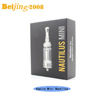 Original Mini Aspire Nautilus Atomizer with glass tube 2. 0ml...