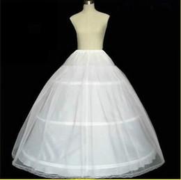 Wholesale White Layer Hoop Wedding Dress Petticoat Bridal Underskirt Slip Crinoline Underdress Accessory