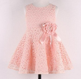 retail girls dresses baby girl party dresses cute baby girl clothes lace flower tutu dress design for kids childrens pink red tcq 003 r1 baby girl dress designs