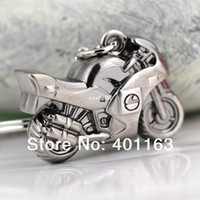 Wholesale M82521 Classic D Simulation Model Motorcycle Motorbike Keychain Key Chain Ring Keyring Keyfob