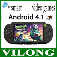 Wholesale New quot Android Capacity Touchscreen Game Console TV Output game player Android game