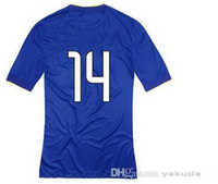 Customized Thailand Quality #14 LLORENTE Blue Away Soccer Je...
