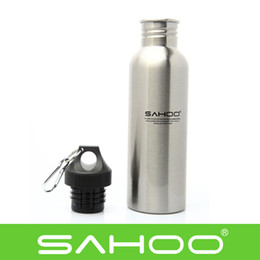 Wholesale OP SAHOO Stainless Steel Bike Bicycle Cycling Outdoor Sports Water Bottle American Sports Bottle Wide Mouth ml