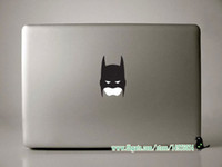 "Cheap Small Batman Part Decal Sticker For Apple Mac Book 11"" 13"" 15"" Laptop Skin Stickers Free Shipping For Macbook Pro Retina"