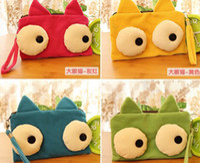big ops - OP Kawaii Cute Big Eyes Kitty Pen Pencil BAG Pouch Case Packs Pendant Cosmetic Beauty Pouch Bag Case Coin Purse Wallet BAG