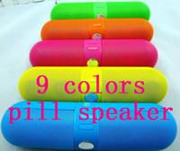 2014 newest speaker Pill Wireless Speakers Lightweight bluet...