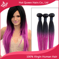 Cheap Malaysian Hair Malaysia Hair Weaves Best Straight Under $50 Purple Ombre Hair