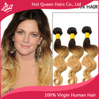 Cheap Indian Hair Blonde Ombre Hair Weft Best Body Wave Under $50 Body Wave Human Hair