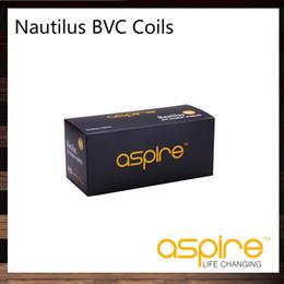 Wholesale Aspire Nautilus BVC Coils Head Replace Coil For Aspire Nautilus Mini Nautilus Tank ohm Bottom Vertical Coil