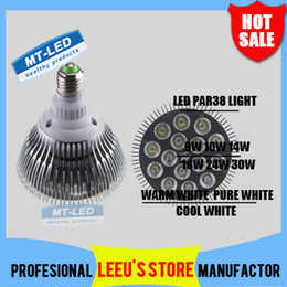 Wholesale Spots Led 9w - DHL FREE SHIPPING Dimmable Led bulb par38 par30 par20 85-240V 9W 10W 14W 18W 24W 30W E27 par 20 30 38 LED Lighting Spot Lamp light downlight