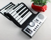 Wholesale New Keys Flexible Soft Portable Electric Digital Roll up Keyboard Piano Music