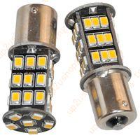 ba15s led bulbs - 10pcs K Warm White BA15S RV Trailer Interior LED Lights Bulbs SMD for good price