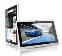 Wholesale Q88 Q8 quot Inch Android A33 Tablet PC Dual Camera GB MB Capacitive Pink Black White Tablet ZKT