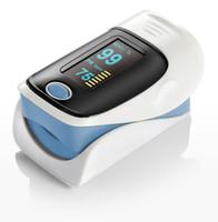Frete grátis CE aprovado Cor OLED de Dedo, Oxímetro de Pulso-Spo2 Monitor oxímetro de pulso de Dedo 5 cores optiona