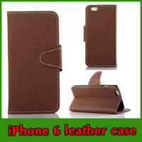 Wholesale 4 Inch iPhone Case Luxury Cloth Print Magnetic Snap Folio Flip Leather Cell Phone Case For Inch iPhone Book Stand ID Card Holder