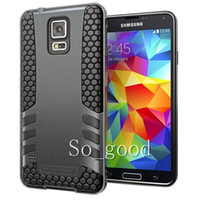 Wholesale 2014 New Design Rocket in Hybrid Rugged Case TPU PC Cover For Samsung Galaxy s5 i9600