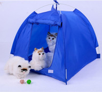Wholesale Big Yard pets tent for dogs or cats SIZE L summer dogs house fashion and simple outdoor pet products can unpick and wash
