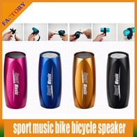 Wholesale Sound Box Price - A+++ Quality Sports Music Speaker Portable Mini Sound Box MP3 Player Bicycle Bike Speaker With FM Radio And Micro SD With Factory Price