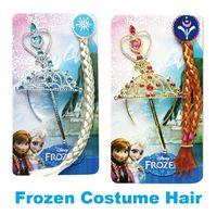 Frozen Ornaments Frozen Magic Wand + Rhinestone Crown+ Hairp...