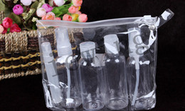 Wholesale Easy portable small travel bottle kit For perfume milk toner lotion shower gels shampoos easy portable travel put in small bottle