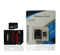 128GB Class 10 Memoria Micro SD TF Tarjeta SD Adaptador Libre Blister Paquete Empaquetado de plástico microSD SDHC 128G SD Tarjeta para teléfonos Android