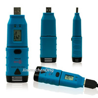 Wholesale BSIDE BTH06 USB High Accuracy Portable USB Temperature Data Logger Recorder Record the Data in Real Time
