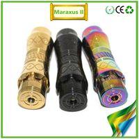 Wholesale 2014 newest full mechanical maraxus v2 mod Maraxus v2 iron man Clone Battery Mod Tube Mods Electronic Cigarette Vaporizer