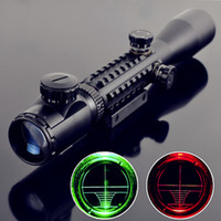 Wholesale Telescopic sight C3 X40 Red Green Dot Reflex Sight r gun sight riflescopes LLL night vision scopes for hunting FreeShipping