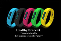 Wholesale Colorful Healthy Bracelet Bluetooth Watch Wrist Band with Calorie Counter Pedometer and Sleep Monitor