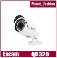 Wholesale New Arrival ESCAM QD320 Fighter P HD P2P Cloud IP Network Camera with m Night Vision Smartphone Remote Viewing