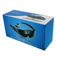 Wholesale Smart Video Glasses AV input for Xbox DVD PSP Games Player FPV Goggles inch Virtual Screen LCD
