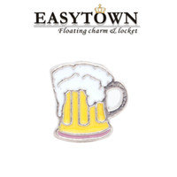 Cheap New Design beer Floating Locket Charms Fit Glass Memory Living Lockets