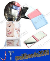 Wholesale New Makeup Compact Cosmetic Mirror w LED Light Lamp Only MYY2321A