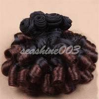 """Cheap 100% Brazilian human remy hair Extension Weave Fashion Funmi Hair Weft Brown Ombre #1B 4 Hot Queen Hair 12""""-28"""" 3pcs lot 6A Grade In Stock"""