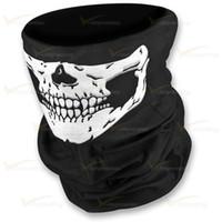 achat en gros de cadeaux gros tartan-LINGSHANG moto moto masque masque de cou tube écharpe gros crâne conception multi-fonction bandana usine fournisseur avec petit cadeau