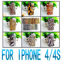 Cheap For Apple iPhone UNIQUE DESIGN Phone Bags Best Plastic Brown CASE FOR IPHONE 4 4S