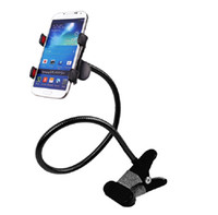 Cheap Hot Sales Flexible Universal Cell Phone Accessories Long Arms Free Clamp Mounts Stander Holder Used on Desktop Bed Sofa Car DHL free