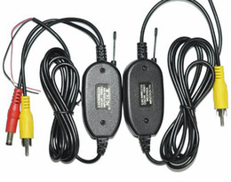 Wholesale 2 Ghz Wireless Video Transmitter and Receiver for Car Rear View Camera and Car DVD Player Monitor