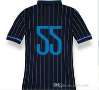 Thailand Quality 14 15 Youth Inter Milan #55 NAGATOMO Blue B...