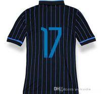 Thailand Quality 14 15 Inter Milan #17 KUZMANOVIC Blue Black...