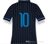 Tailandia Calidad 14/15 Inter de Milán Kovacic 10 # jerseys Top, 14-15 personalizada camiseta de fútbol más barato de calidad AAA Soccer Football Jersey
