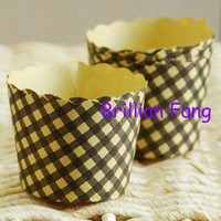 Wholesale Large Muffin Cake Paper Cases cupcake Cups pc107 one box box
