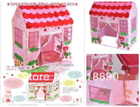 Cheap Factory Direct,Hot sale , 5pcs lot kids childern play house tent, Baby Game house tent,welcome wholesale and retail