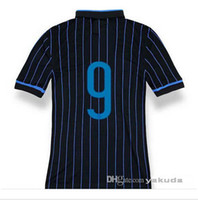 Thailand Quality 14 15 Youth Inter Milan #9 ICARDI Blue Blac...