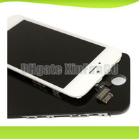 Cheap Made in China Black and white Glass Touch Screen Digitizer & LCD Assembly Replacement For iPhone 5 & Freeshipping
